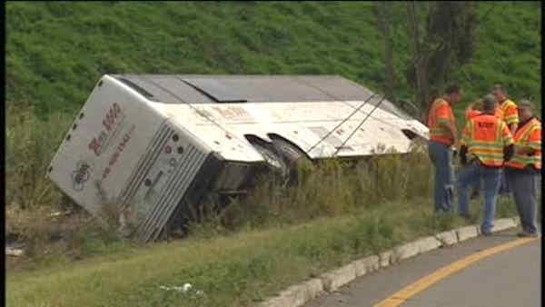 Did speed play a role in the Wayne bus crash?