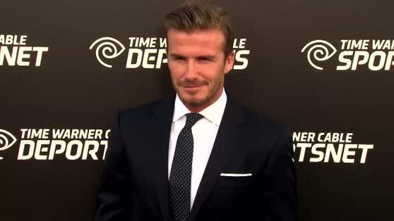 David Beckham Opens Up About his Nerves on TV