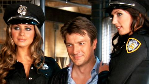 Richard Castle's Cosmo Cover Shoot