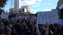 Thousands Attend the Los Angeles Women's March