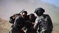 Extraordinary combat video shows soldier's act of humanity
