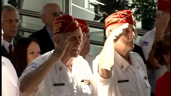Former Marines honored in Louisville