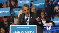Obama spends Election Day eve in Ohio
