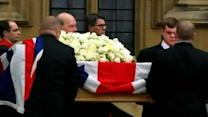 Raw: World Leaders Gather for Thatcher Funeral