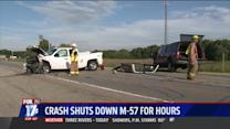 Four-Vehicle Crash Shuts Down Major Road For Hours
