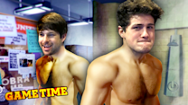 IAN AND ANTHONY TAKE A SHOWER! (Gametime w/ Smosh Games)