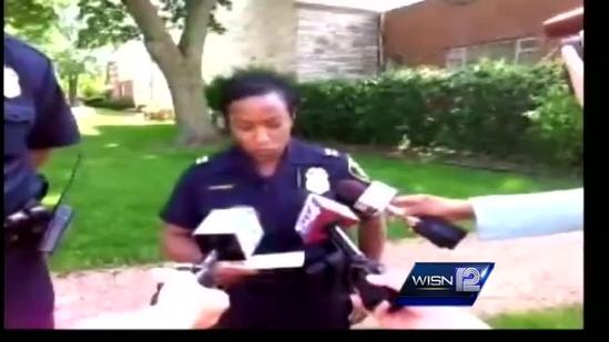 RAW: MPD officer shoots robbery suspect