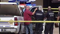 Bank robbery suspect fatally shot