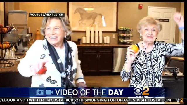 Video Of The Day: Agoura Hills Seniors Get 'Happy,' Move Their Dancing Feet