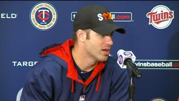 'Something New Every Day': Mauer On Playing First Base