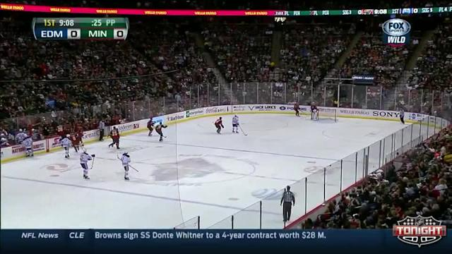 Edmonton Oilers at Minnesota Wild - 03/11/2014