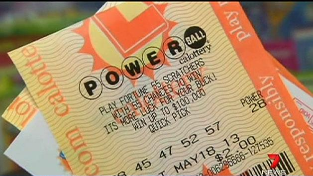 Search for $600m lotto winner