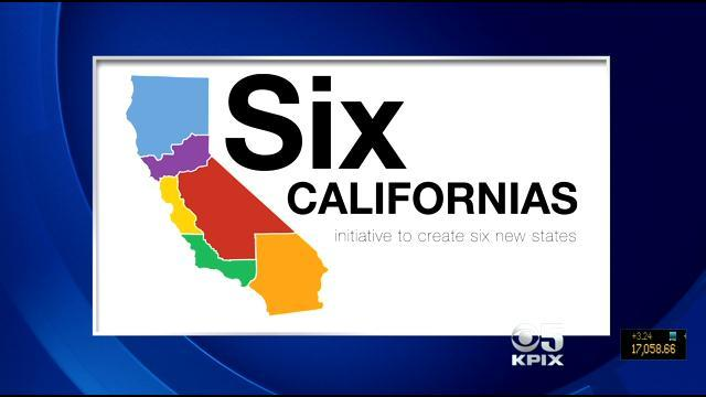 Californians Likely To Cast Votes On Splitting Into 6 States