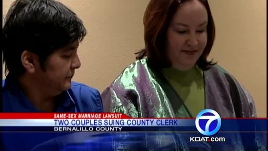 ACLU files same-sex marriage lawsuit