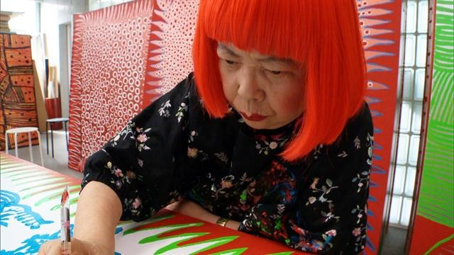 Yayoi Kusama: The princess of polka dots