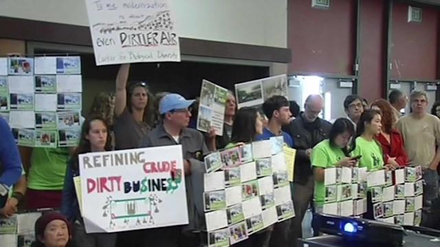 Dueling parties debate Chevron refinery project in Richmond
