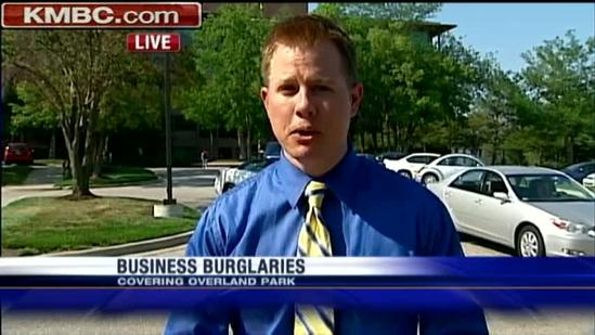Burglars ransack Overland Park offices