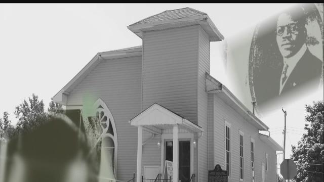 Efforts underway to save historic church