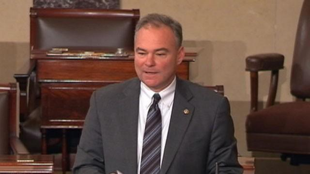 Sen. Tim Kaine Speaks Spanish on Senate Floor