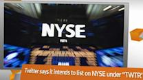 FACTBOX: Twitter lists on NYSE; Revenues double