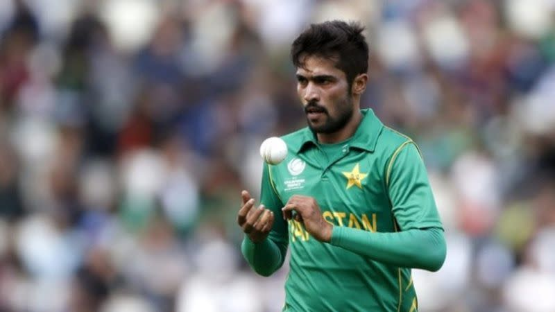 Mohd Amir has been left out of Pakistan's World Cup squad