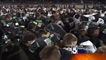 Paralyzed Santiago High Football Player Honored at Pre-Game Ceremony
