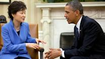 Obama meets with South Korea president to discuss North