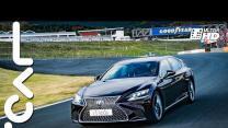 高性能油電 Lexus LS 500h 旗艦版 日本富士賽道試駕 - TCAR