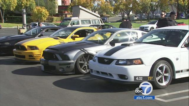 Fans at car show react to Paul Walker death