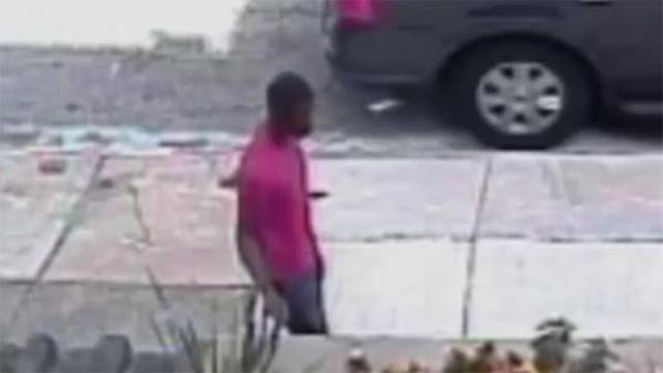 Police: Serial robbery suspect caught on camera