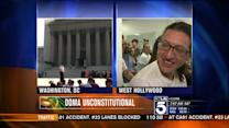 Emotional Reaction to Supreme Court Decision on DOMA