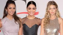Nina Dobrev, Vanessa Hudgens, Gigi Hadid CFDA Fashion Awards Red Carpet