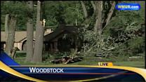 Communities clean up from storm damage