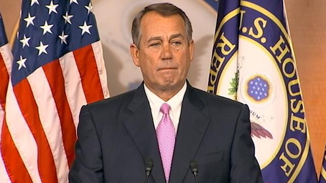 Speaker Boehner Says He's Facilitating Immigration Reform Process
