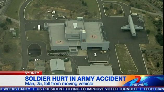 Soldier injured in Holsworthy accident