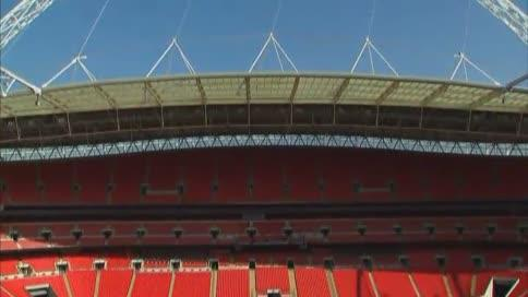 Últimos preparativos para la gran final en Wembley