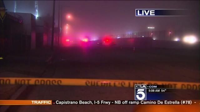 Man Fatally Shot in East Los Angeles