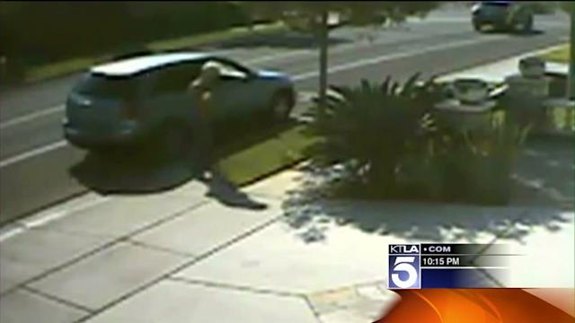 Video Catches Brazen Package Thief in the Act