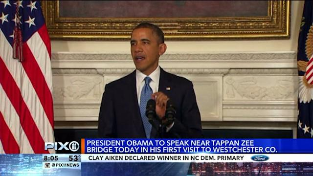 President Obama Begins Two-Day Visit to New York