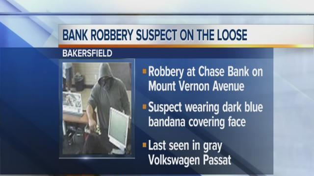 East Bakersfield bank robbed