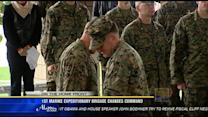 1st Marine Expeditionary Brigade changes command