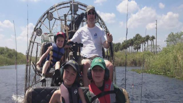 Local family rescued in Florida Everglades shares their story