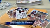 Bogus check scheme leads to 17 arrests