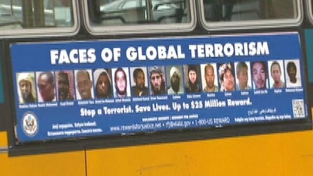 Are anti-terrorist ads racist?