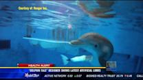 """Dolphin Tale"" designer shows latest artificial limbs"
