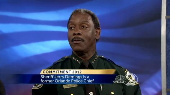 Sheriff Jerry Demings talks Sheriff's race with Greg Fox