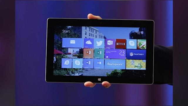 Microsoft Launches New Surface Tablets