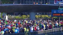 Thousands turn out for the 2013 Chicago Marathon