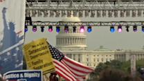 Immigrants rally on National Mall, urging Congress to pass immigration reform