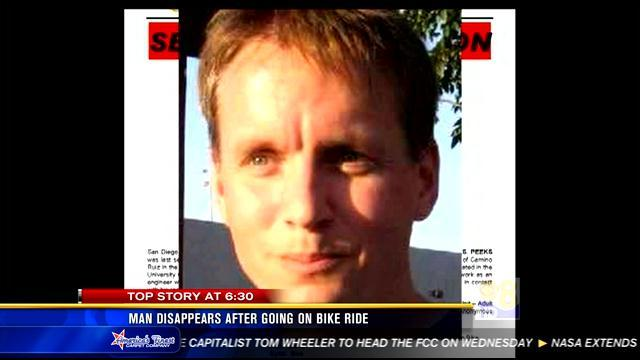 Man disappears after going on bike ride